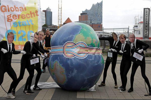 """""""Bienvenidos al infierno"""": así recibirán a Trump, Putin y Erdogan en la cumbre del G20"""