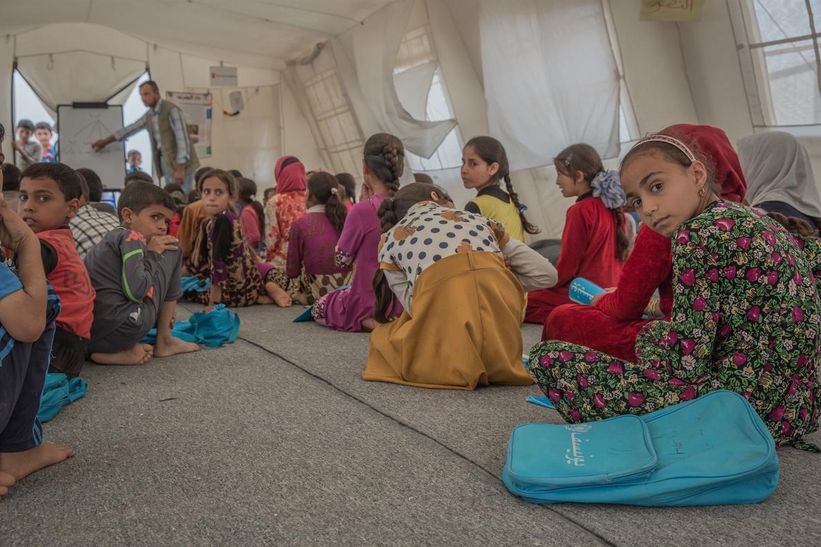 UNICEF dice que la falta de fondos amenaza la educación de nueve millones de niños y pide al G-20 que ayude
