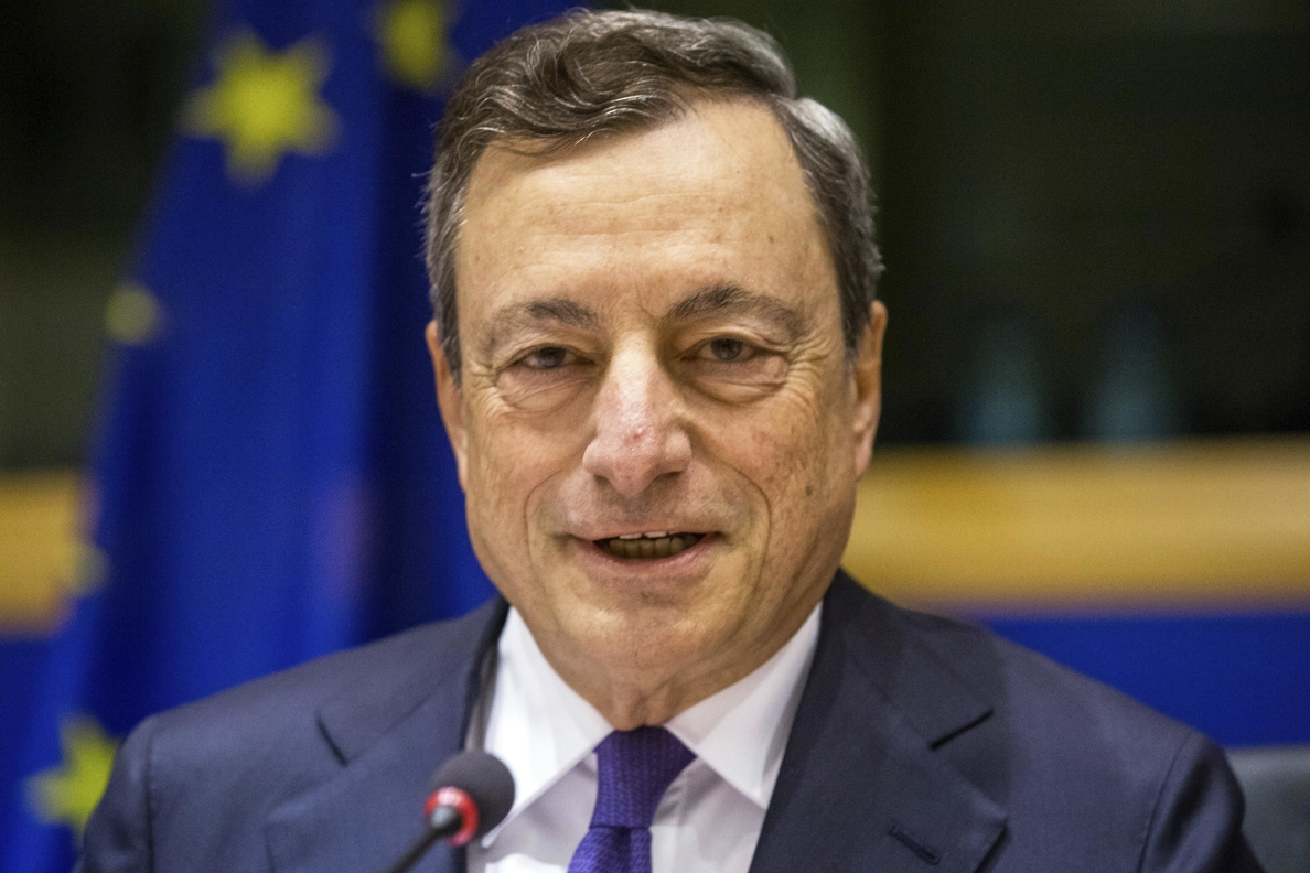 Draghi reiterará que la retirada de los estímulos será gradual