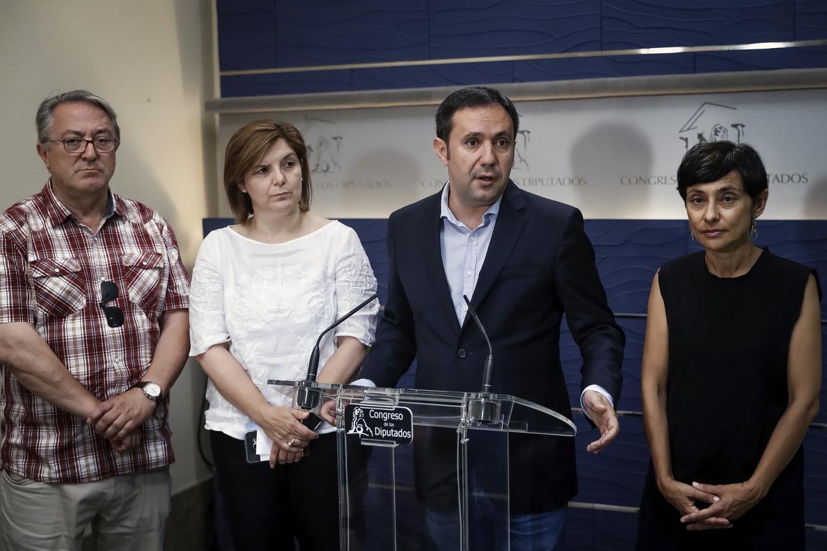 En Marea celebra cambio del PSOE en Alvia y apoyará su comisión investigación