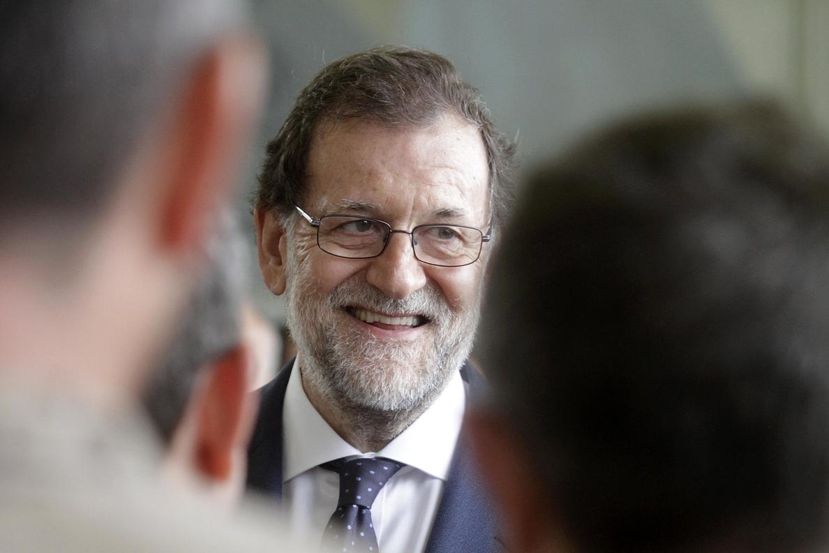 Rajoy viajará mañana a Cataluña convencido de que no habrá referéndum el 1-O
