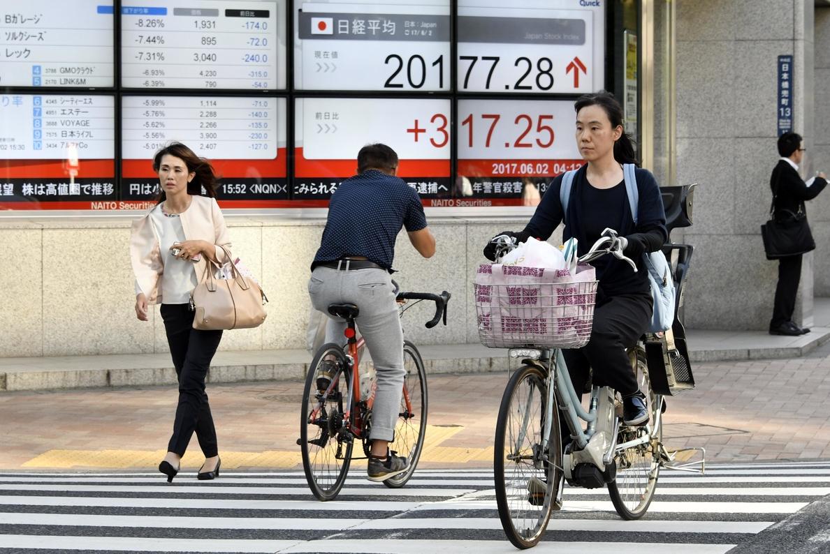 La Bolsa de Tokio abre con un avance del 0,13 % en 20.046,90 puntos
