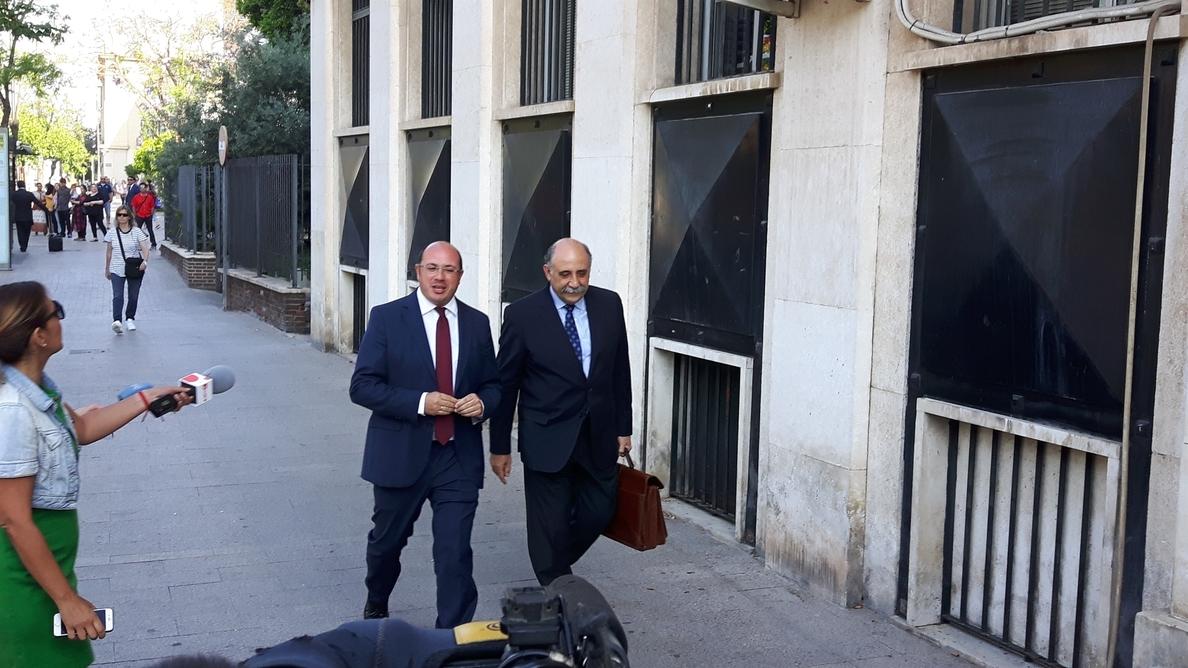 El fiscal superior de Murcia cree que la acusación contra Pedro Antonio Sánchez podría presentarse en septiembre