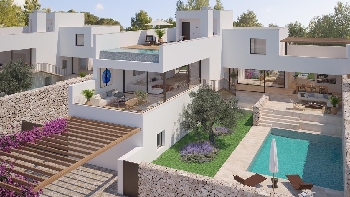 (Amp.) OD Group presenta una edición limitada de viviendas en Ibiza con servicios a medida para propietarios