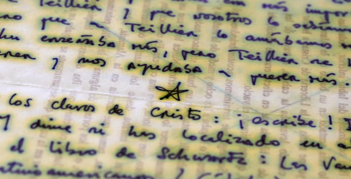La Biblioteca Nacional adquiere un epistolario de Roberto Bolaño