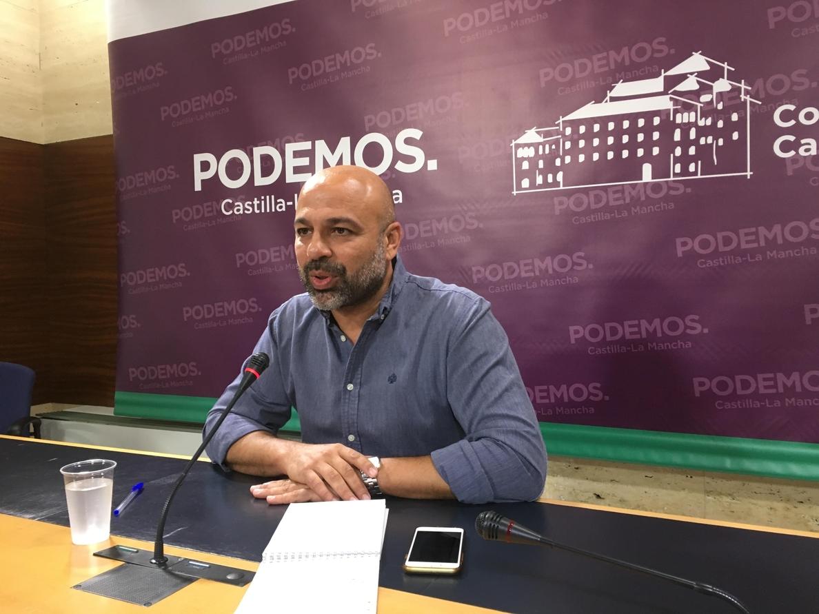 Líder Podemos en C-LM recuerda la posición «marginal» de Teresa Rodríguez en el partido y pide respeto al pacto con Page