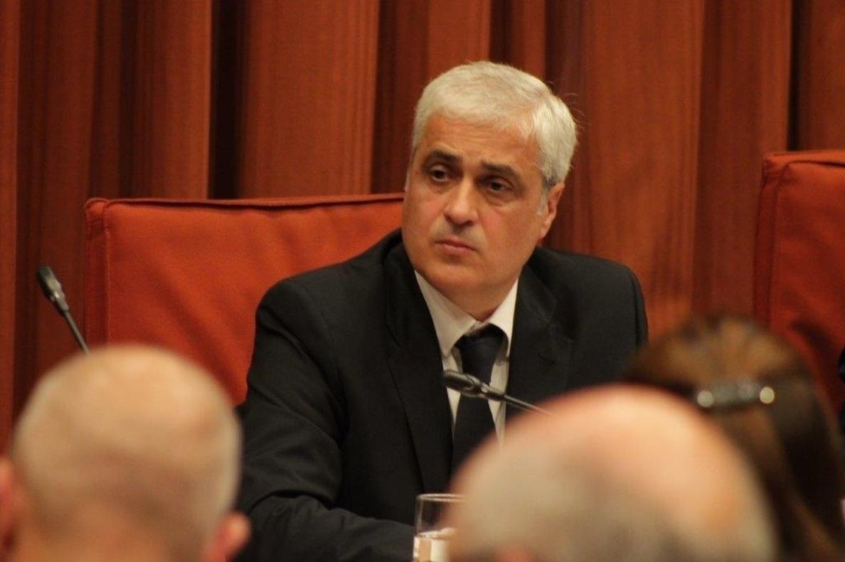 El TSJC suspende la declaración de Gordó del lunes por problemas de salud de su abogado