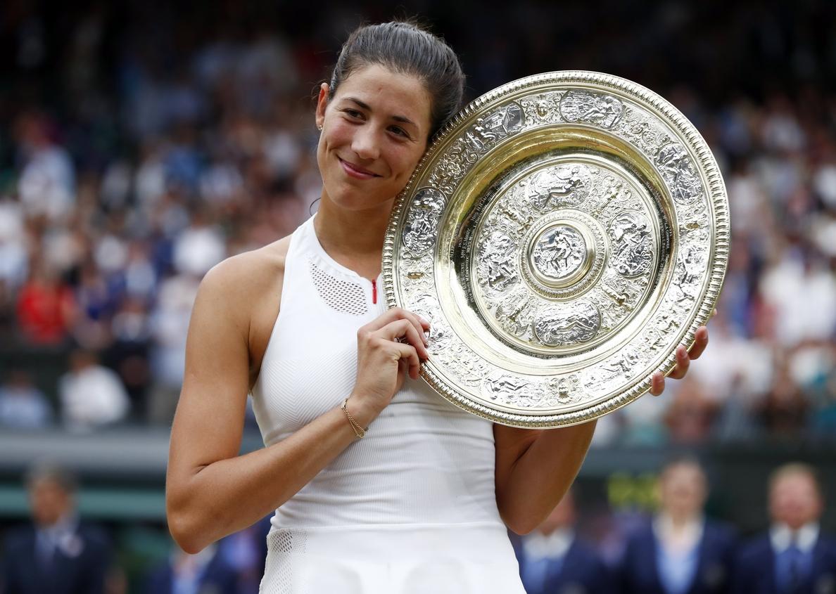 Muguruza asciende al cuarto lugar de la clasificación WTA