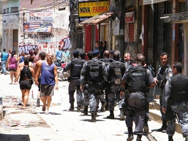 La Policía Militar de Brasil protesta por el aumento de la violencia en el país