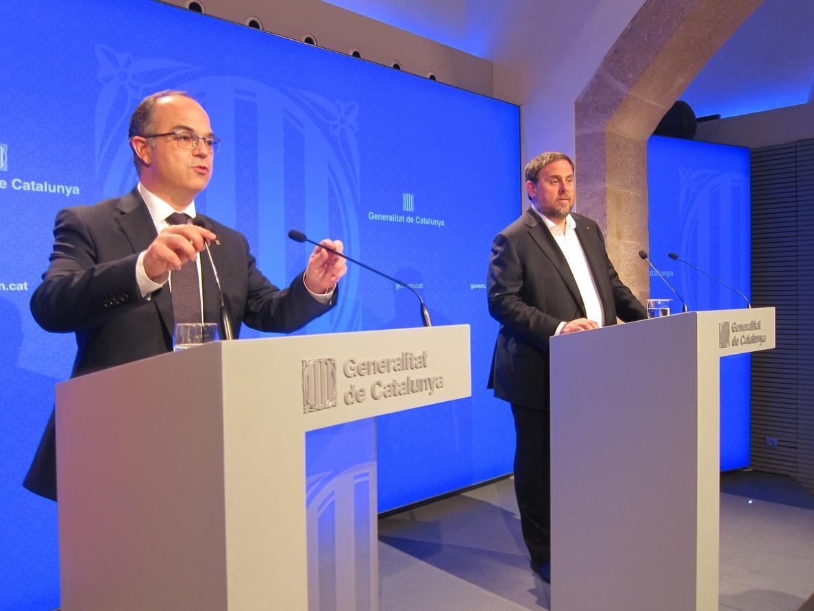 El Gobierno catalán recurrirá ante el Supremo y el Constitucional «la amenaza» de Rajoy con el FLA
