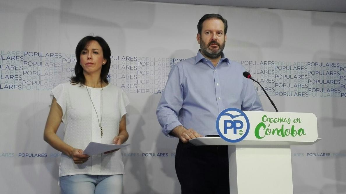 El PP de Córdoba niega financiación ilegal, afirma haber pagado sus facturas y anuncia acciones legales
