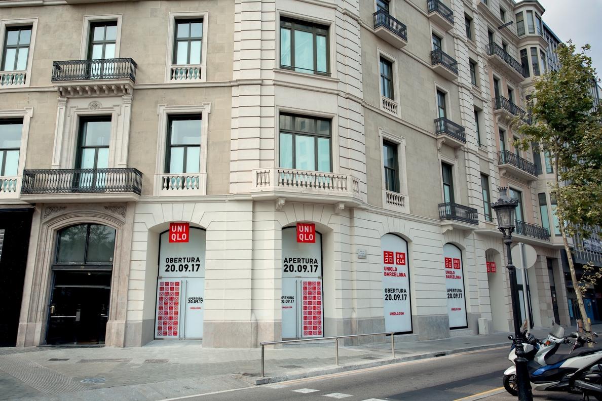 Uniqlo abrirá en Barcelona su primera tienda en España el 20 de septiembre