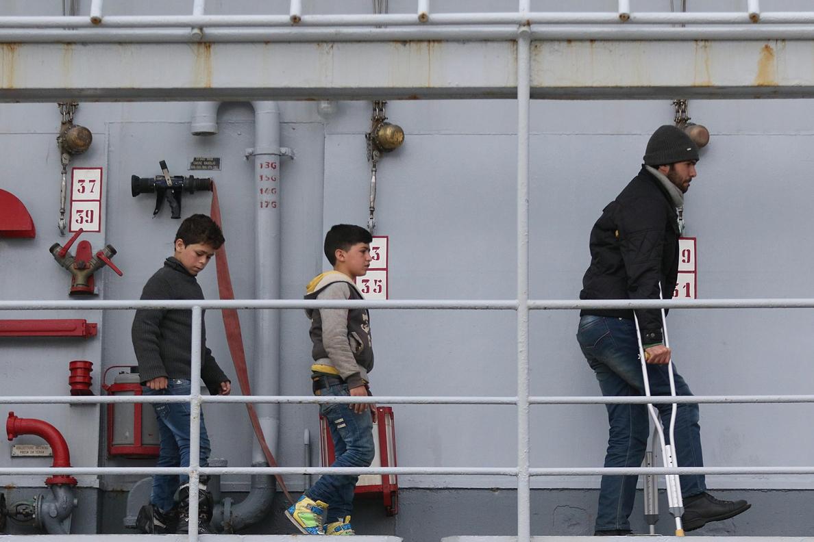 La mayoría de los menores que llegan por el Mediterráneo a Italia emigran por decisión propia