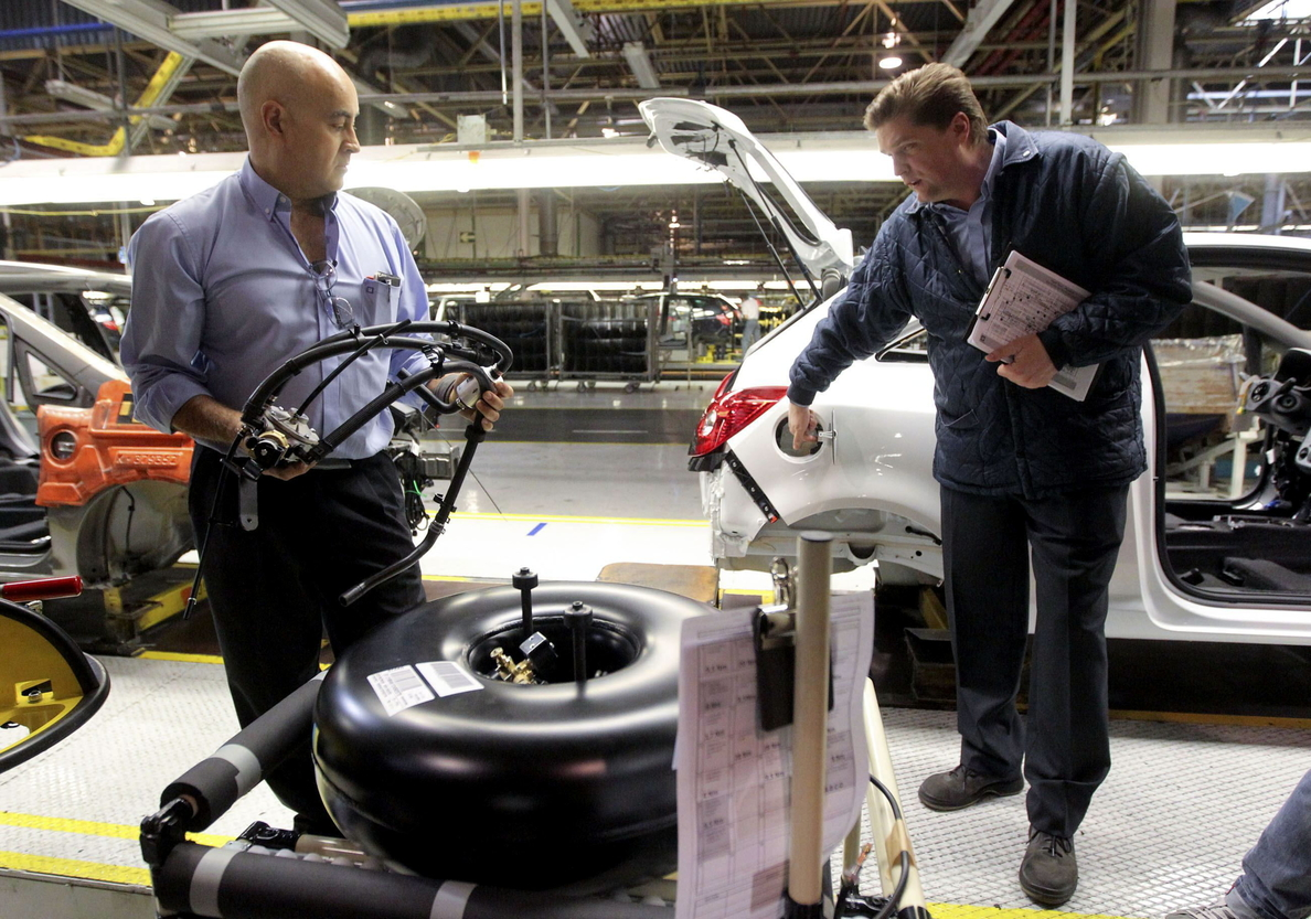 Los precios industriales moderan su incremento al 3,2 por ciento en junio
