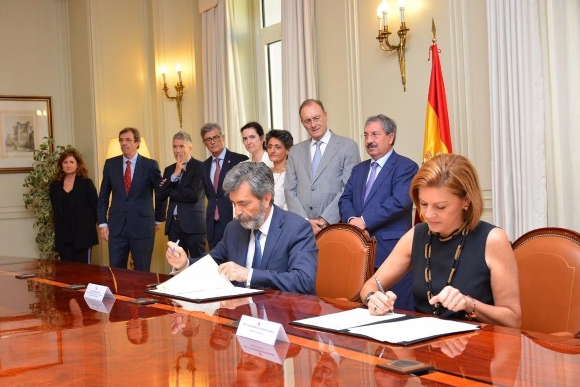 Los tribunales militares estrecharán su cooperación con el CGPJ y podrán acceder a los fondos del CENDOJ