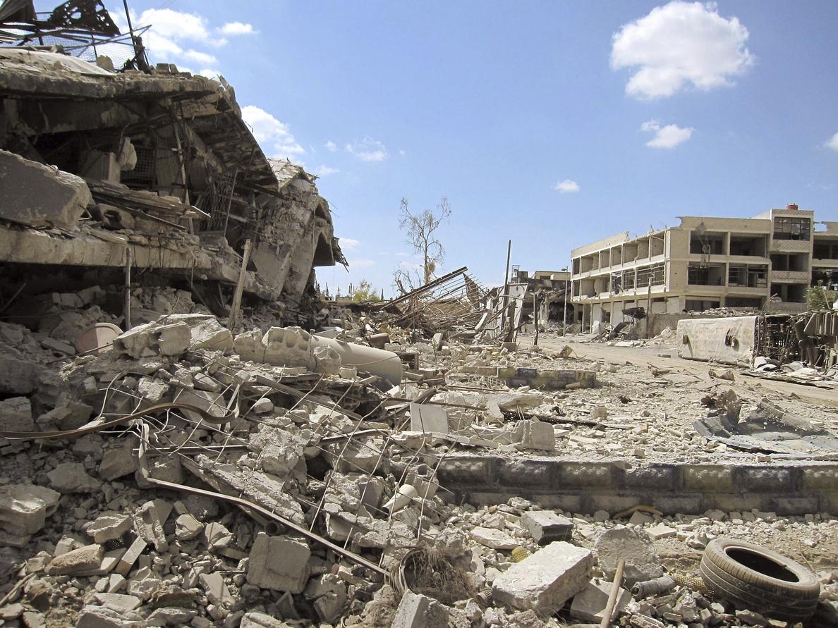Estallan combates en la periferia de Damasco, en medio de tregua