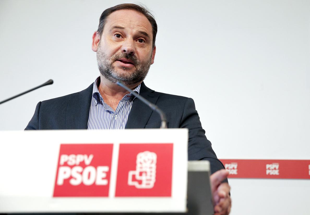 Ábalos: «No sé qué espera Rajoy después del 1 de octubre»