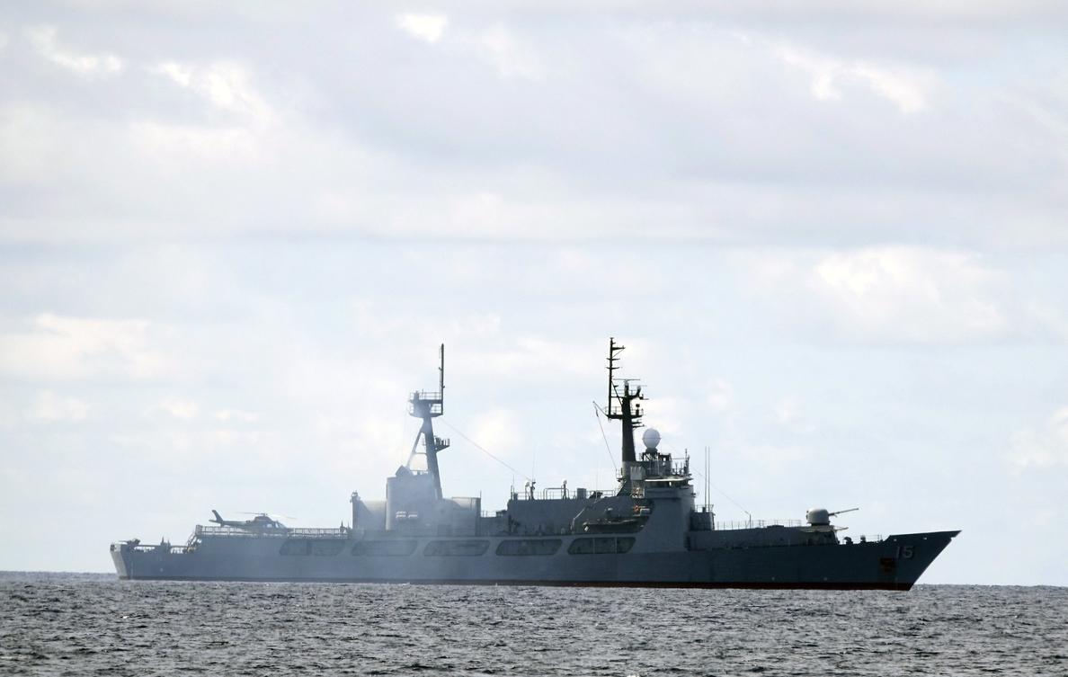 China protesta por incursión de un navío militar de EEUU en aguas disputadas