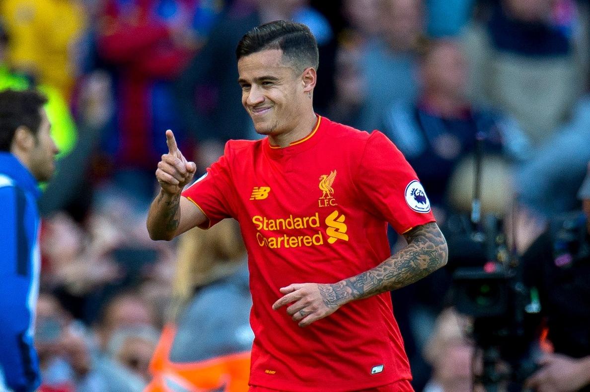El Liverpool asegura que «no considerará ofertas por Coutinho»