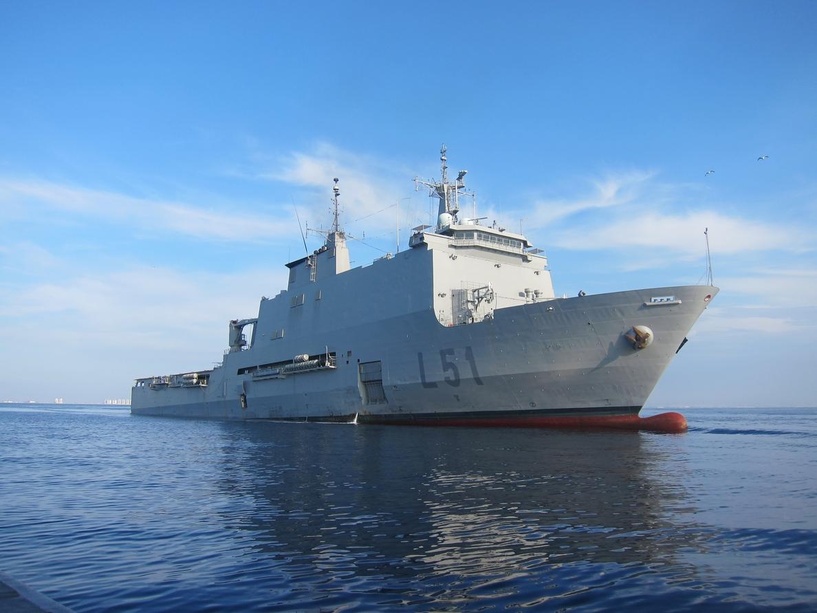 El buque »Galicia» regresa este sábado a la Base Naval de Rota (Cádiz) tras finalizar la operación Atalanta