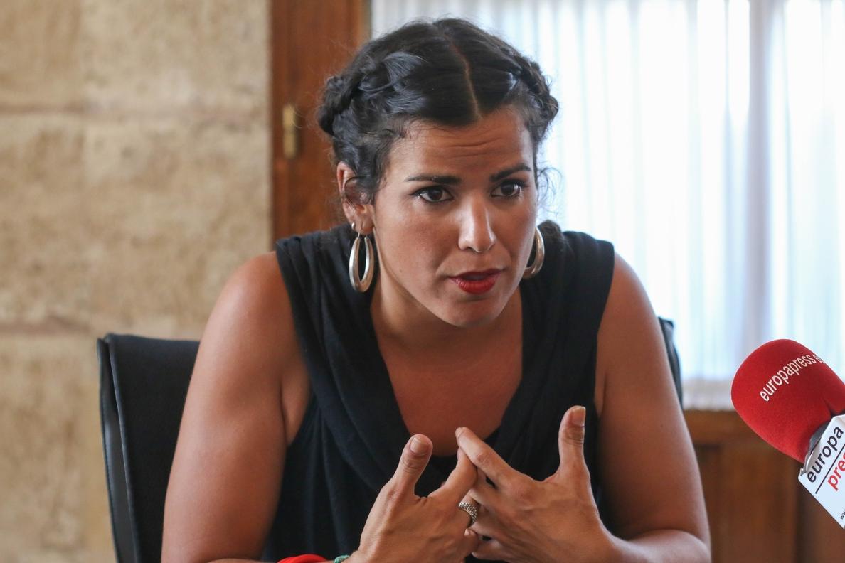 Teresa Rodríguez asegura que «luchará hasta el final» para que Podemos Andalucía pueda elaborar sus listas electorales