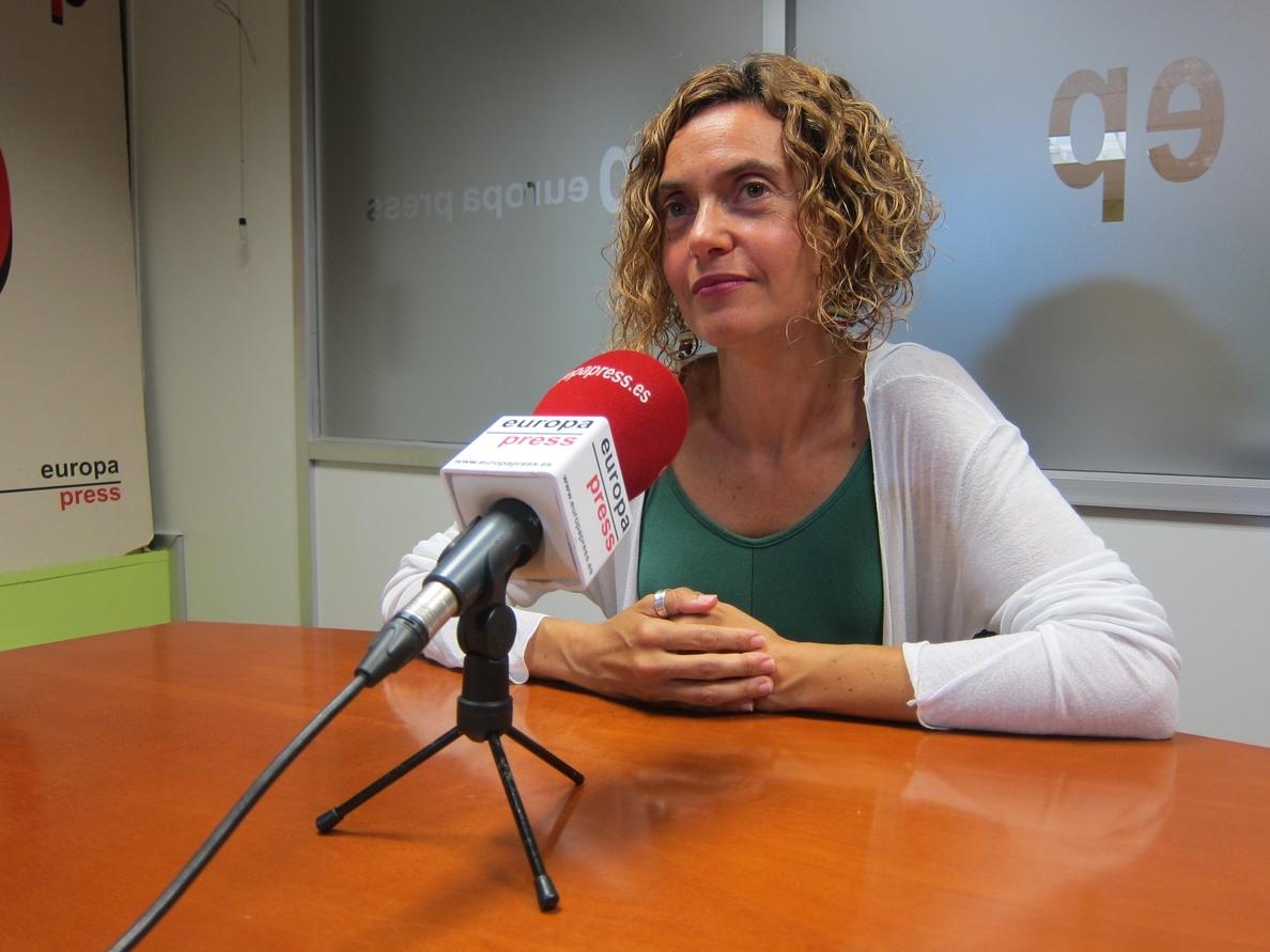 Batet (PSC) ve «casi imposible» una moción de censura a Rajoy y critica la oferta del PDeCAT