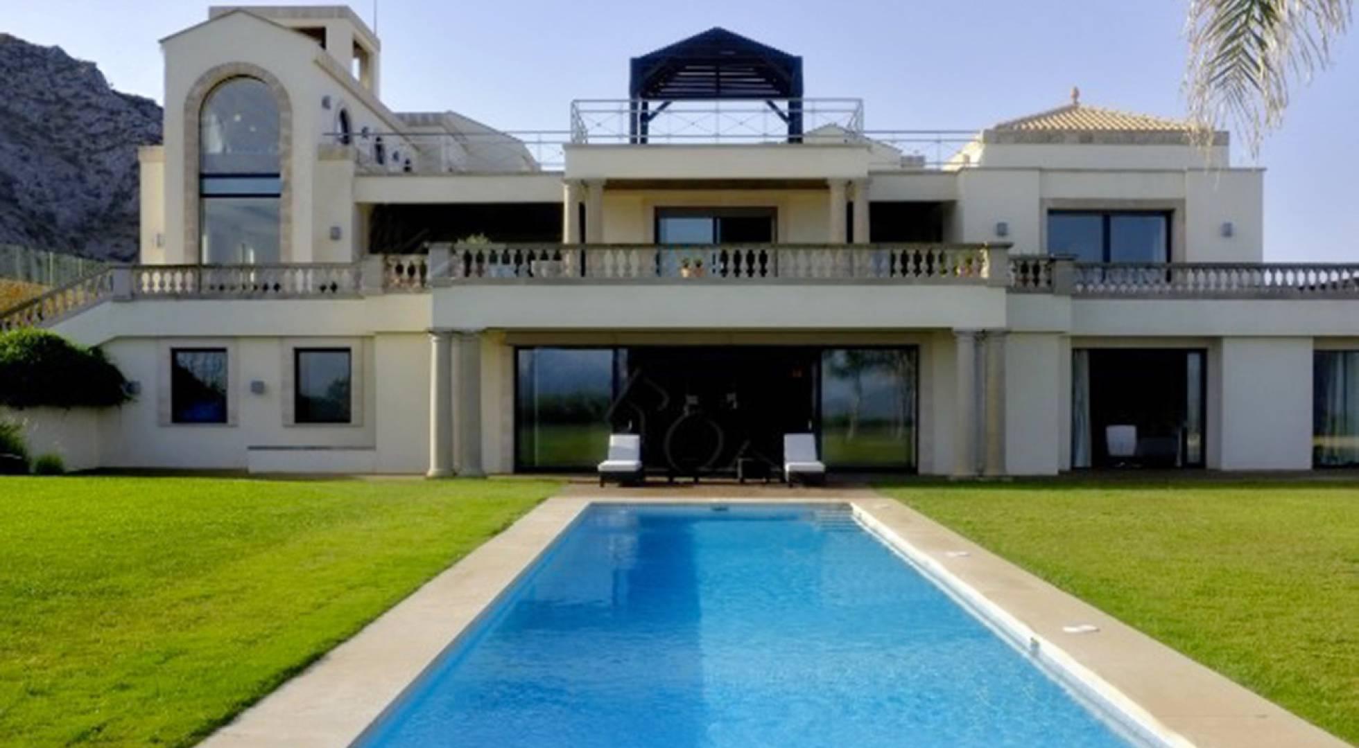 Una mansión de 3.500 metros de Mallorca por 57,5 millones, la casa más cara de España