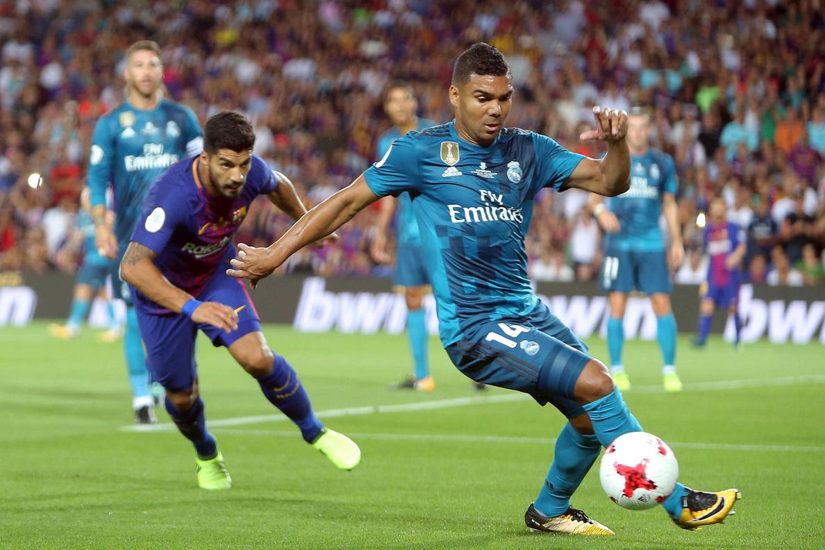 1-3. El Real Madrid gana al Barcelona en la ida de la Supercopa