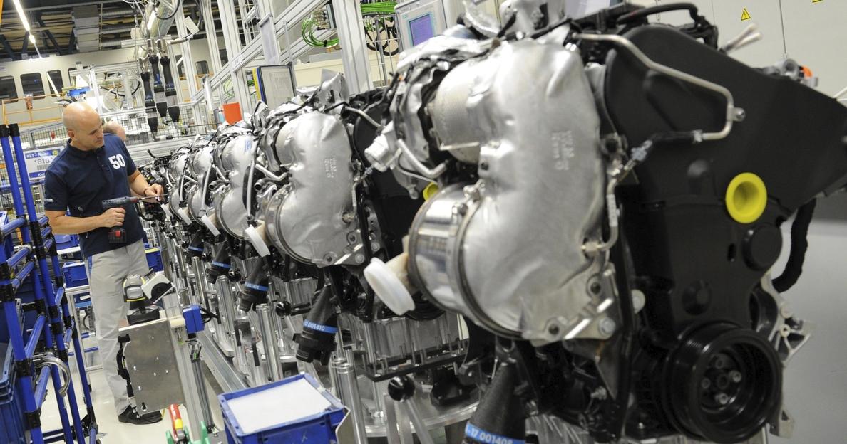 La producción industrial de la zona euro se contrajo un 0,6% en junio