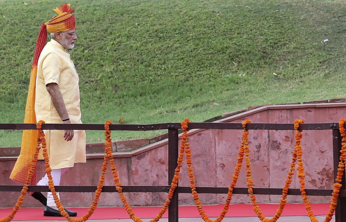Modi apela a la creación de una «nueva India» en el Día de la Independencia