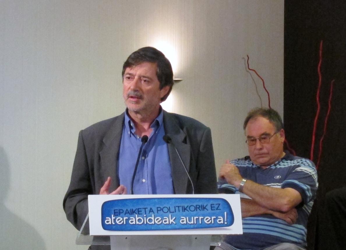 LAB asegura que Rafa Díez tendrá «el recibimiento que se merece» y convoca dos actos, uno en Muskiz y otro en Lasarte