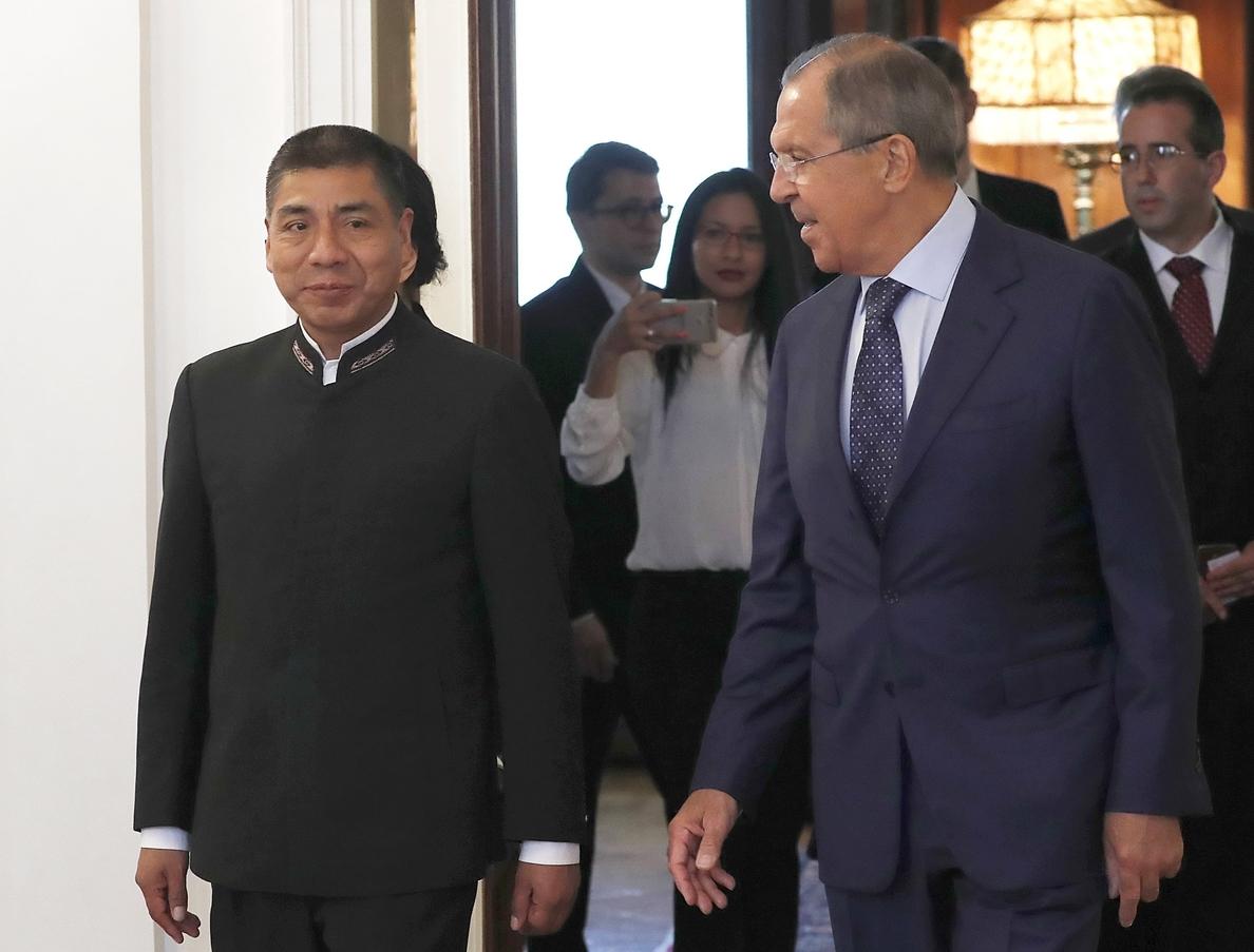 Lavrov tacha de «inaceptables» las amenazas de intervención militar en Venezuela