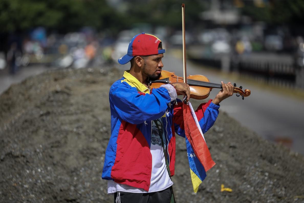 Liberado Wuilly Arteaga, el violinista de las protestas en Venezuela
