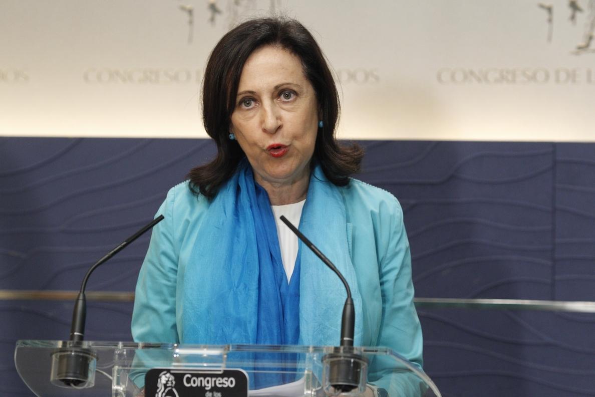 Margarita Robles critica al Gobierno por ir «a remolque del calendario» independentista y al «albur» de los tribunales