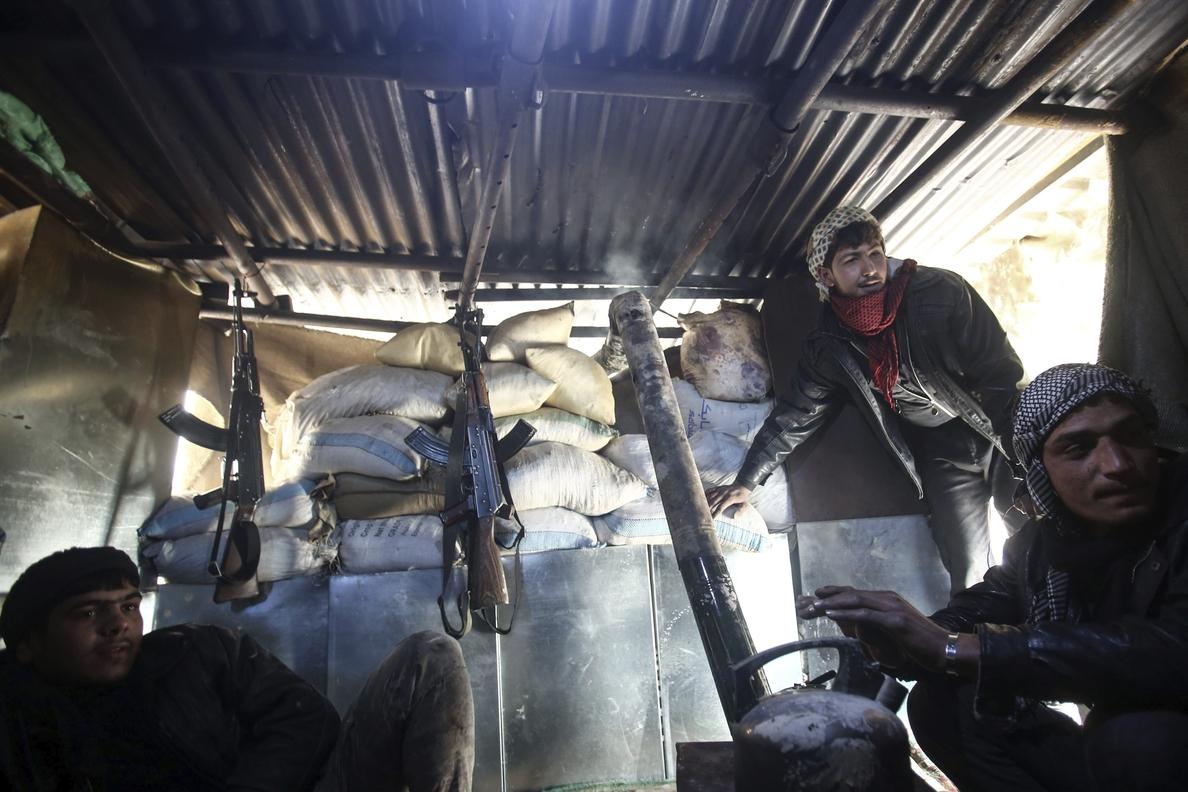 Muere un civil y cinco resultan heridos por un proyectil cerca de Damasco