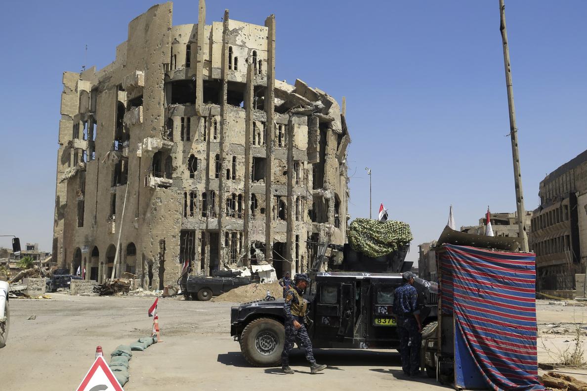 Mueren 10 efectivos iraquíes y 6 yihadistas en choques al norte de Bagdad