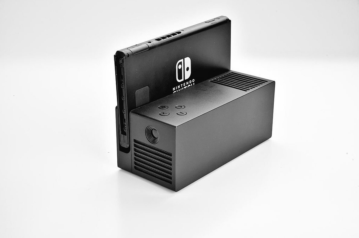 Nintendo presenta OJO, su proyector portátil para jugar en la pared