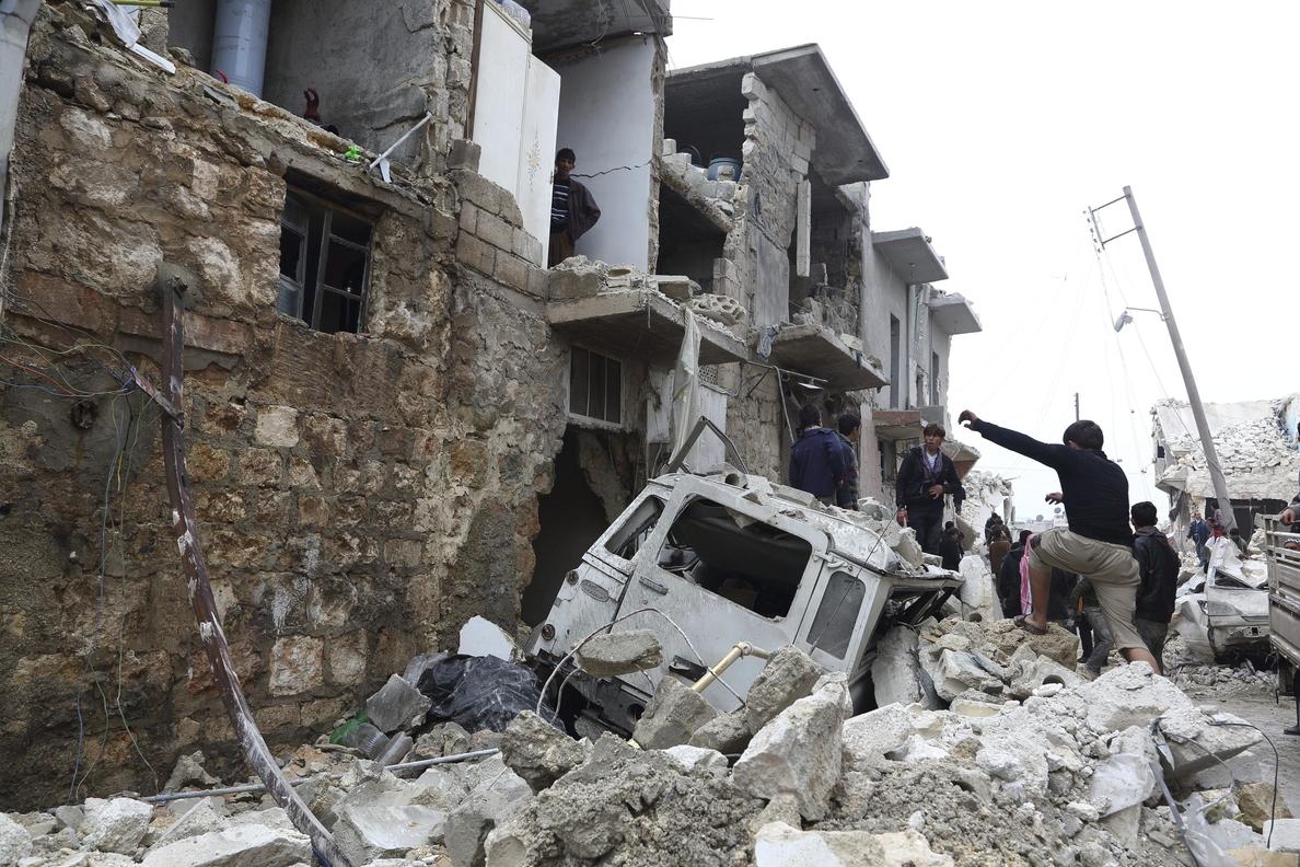 Siria levanta una fábrica de misiles Scud, asegura una cadena israelí