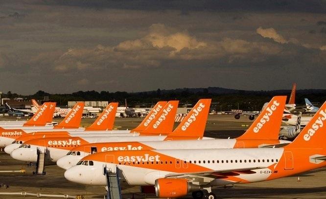 easyJet transportó a más de 8 millones de pasajeros en julio, casi un 9% más