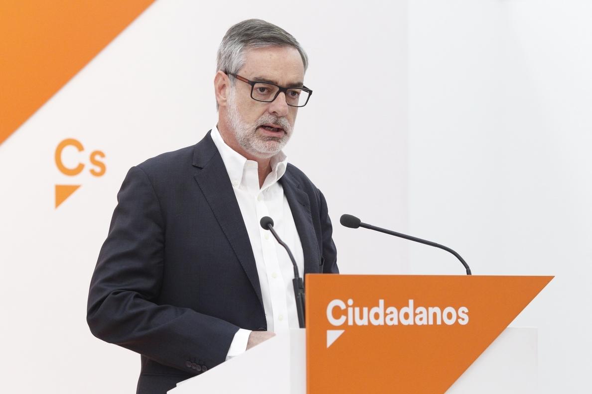 Ciudadanos admite que «no es favorable» a que Rajoy comparezca en el Pleno del Congreso por Gürtel