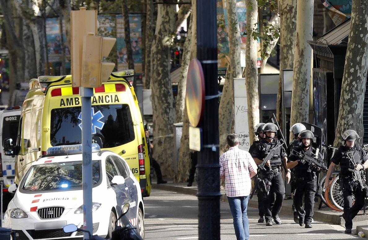 Los Mossos confirman que el atropello de Barcelona es un atentado terrorista