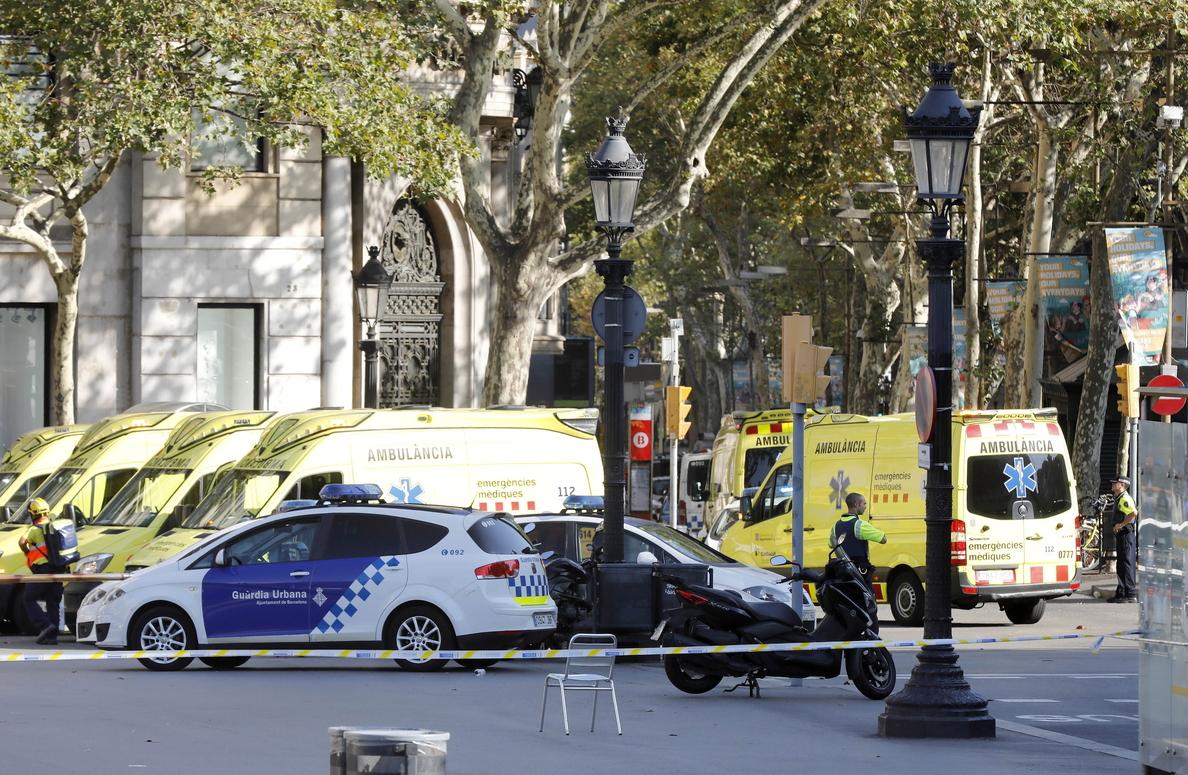La Policía pide que no se difundan imágenes ni vídeos del atropello en Ramblas