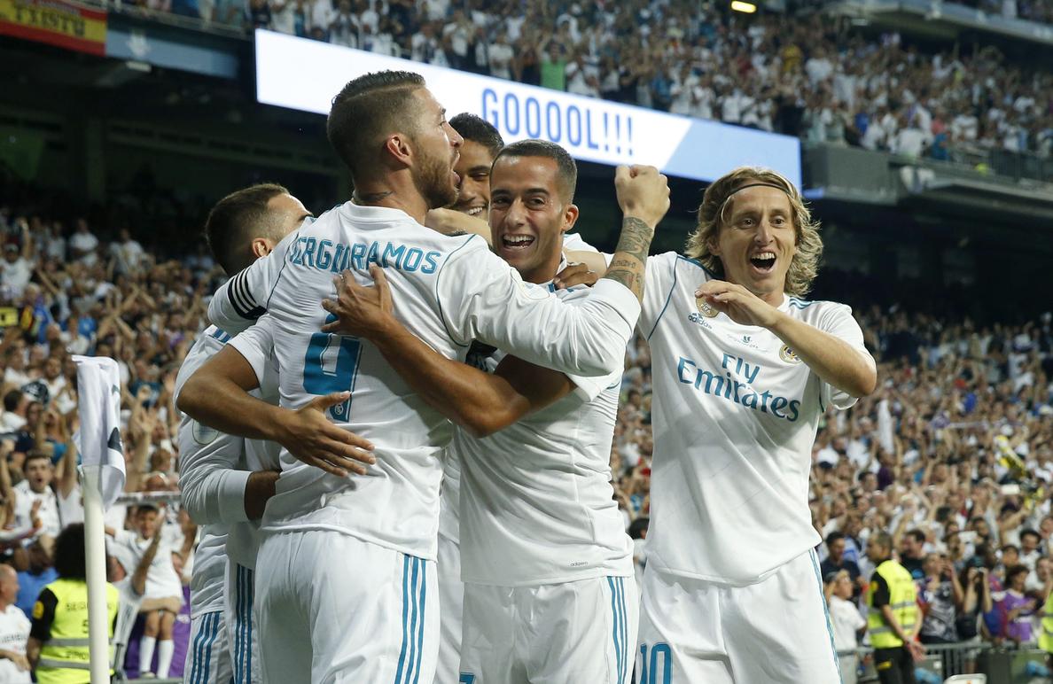 2-0. El Real Madrid conquista la Supercopa de España