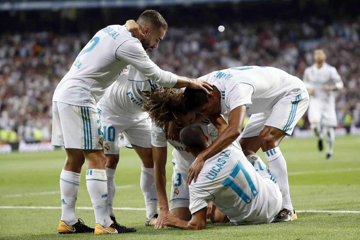 2-0. Éxtasis madridista ante un Barcelona en depresión