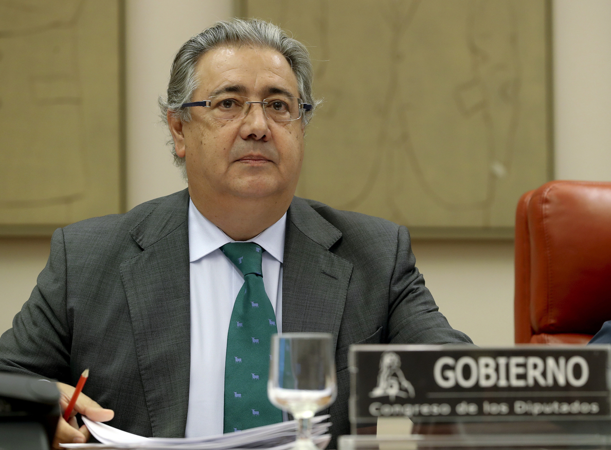 Zoido afirma que la política migratoria de España es el «referente de la UE»
