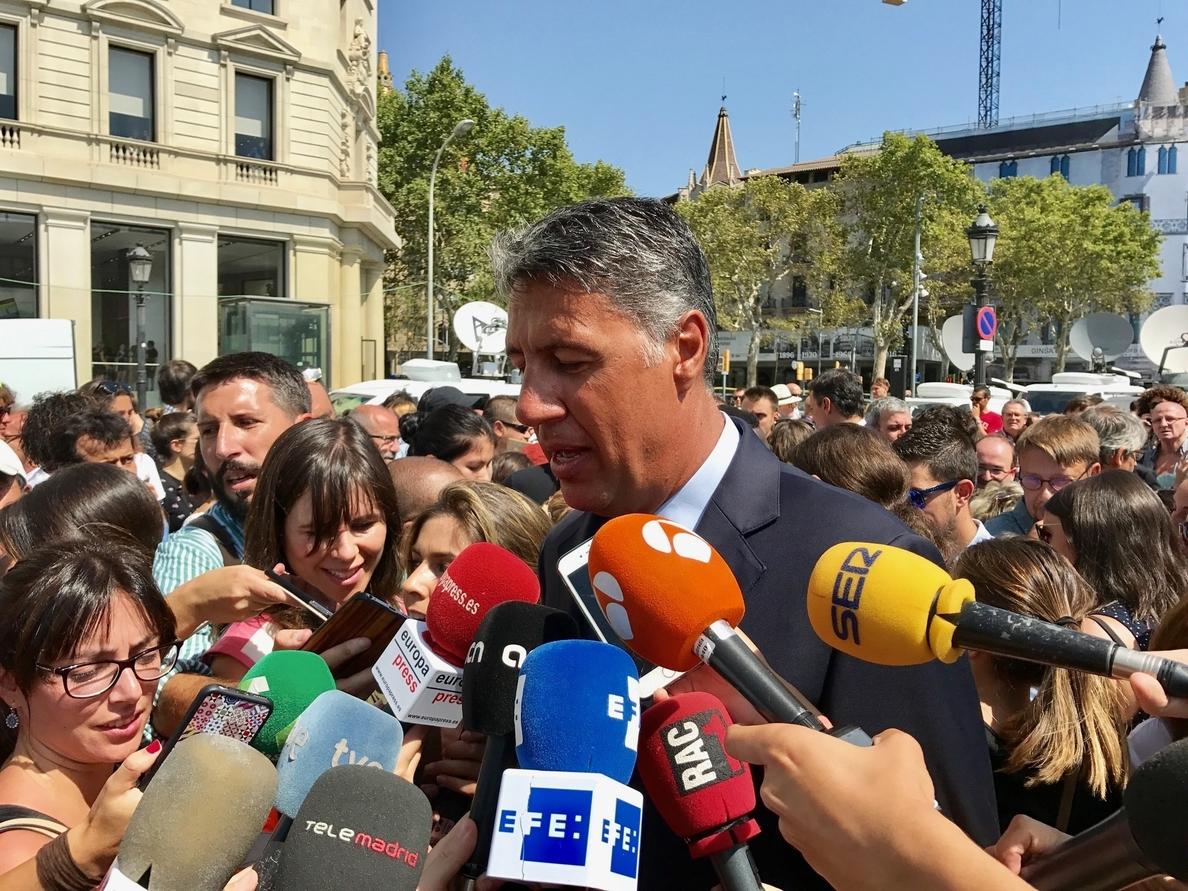 Albiol pide aparcar las difderencias políticas y que todos los partidos participen en el Pacto Antiterrorista