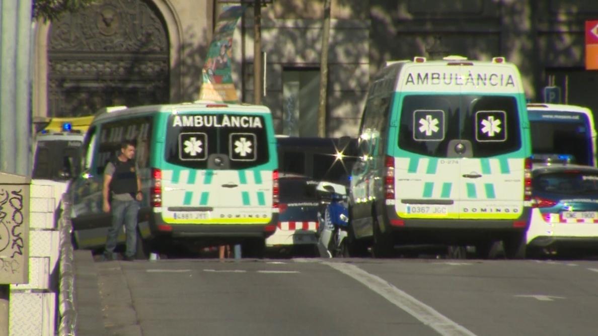 Metro y bus no pararán en La Rambla este viernes a causa del perímetro de seguridad