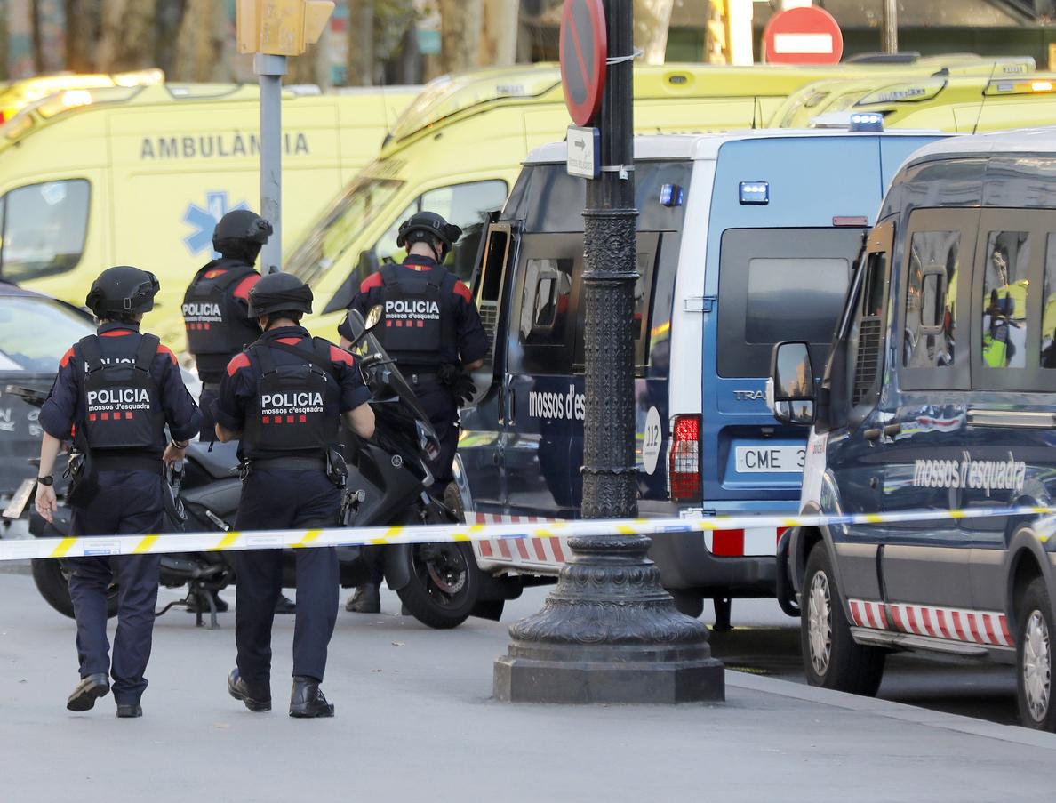 Mossos desarrollan una operación en Cambrils relacionada con nuevo atentado