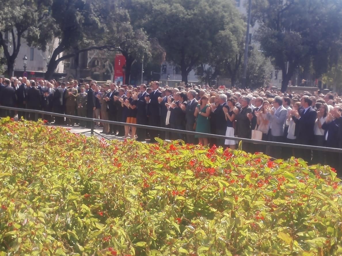 Puigdemont agradece la respuesta «inmensa e impresionante» de los barceloneses