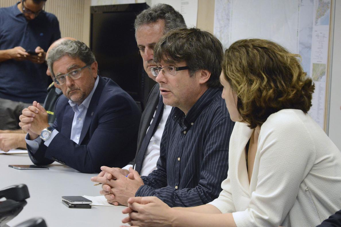 Rajoy presidirá este mediodía el gabinete de crisis junto a Puigdemont